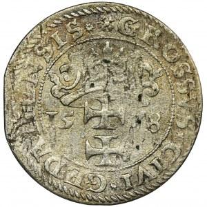 Stephan Bathory, Groschen Danzig 1578