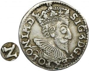 Zygmunt III Waza, Trojak Olkusz 1593 - RZADKI