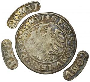 Zygmunt I Stary, Grosz Toruń 1531 - PRVS/PRS, POO, brak daty