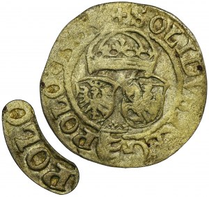 Stephan Bathory, Schilling Olkusz 1583 ID - POLO, RARE