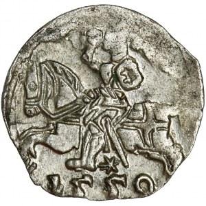 Sigismund II August, Denarius Vilnius 1550 - RARE