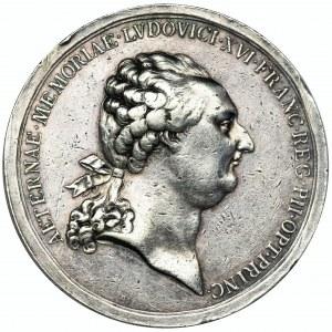 Francja, Medal pośmiertny Ludwika XVI
