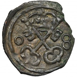 Zygmunt III Waza, Denar Poznań 1608 - RZADKI
