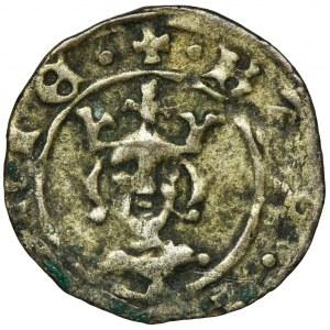Kazimierz III Wielki, Denar bez daty Kraków