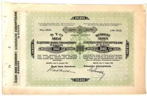 Śląski Bank Eskontowy - 28000 mkp, VIII emisja