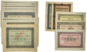Germany, lot of share certificates (14pcs.)
