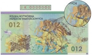 PWPW, Pszczoła (2012) - JK 0000000 - DESTRUKT