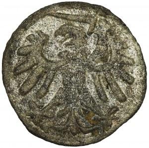 Sigismund I the Old, Denarius Danzig 1539 - RARE