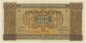 Grecja, 100 drachm 1941