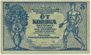 Hungary, 5 korona 1919