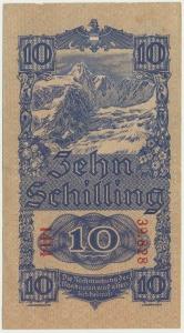Austria, 10 szylingów 1945