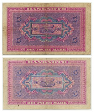 Germany, set of 5 mark 1948 (2 pcs.)