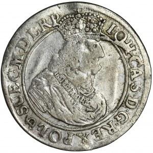 John II Casimir, 1/4 Thaler Danzig 1662 DL