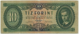 Hungary, 10 forints 1947