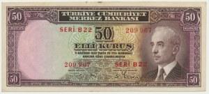 Turkey, 50 kurus 1930