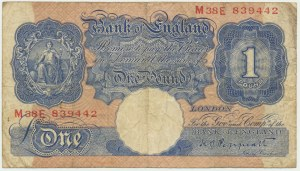 Great Britain, 1 pound 1940