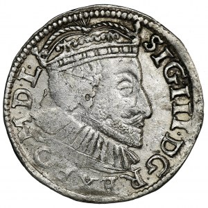 Sigismund III Vasa, 3 Groschen Posen 1590