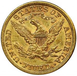 USA, 5 Dollars Philadelphia 1882 - Liberty Head