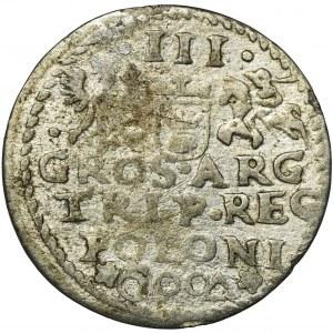 Zygmunt III Waza, Trojak Malbork 1600 - NAŚLADOWNICTWO