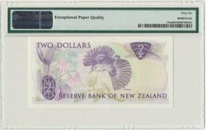 New Zealand, 2 dollars (1981-85) - PMG 66 EPQ - sign. Hardie