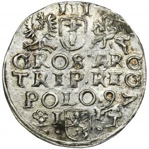 Sigismund III Vasa, 3 Groschen Freustadt 1597