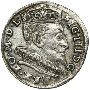 Zygmunt III Waza, Trojak Wilno 1594 - kropki po III