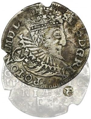 Sigismund III Vasa, 3 Groschen Olkusz 1593 - VERY RARE
