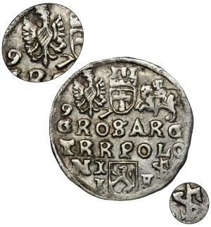 Sigismund III Vasa, 3 Groschen Lublin 1597 - VERY RARE