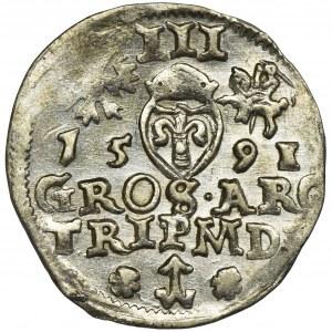 Sigismund III Vasa, 3 Groschen Vilnius 1591