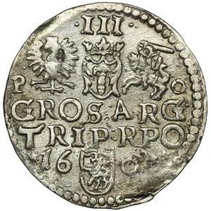 Zygmunt III Waza, Trojak Poznań 1600 - RZADKI