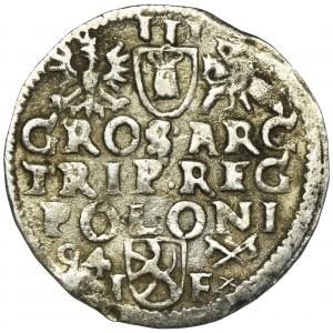 Zygmunt III Waza, Trojak Poznań 1594 - FAŁSZERSTWO