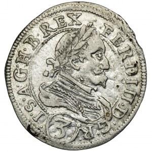 Austria, Ferdinand II, 3 Kreuzer Graz 1629