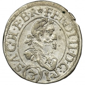 Austria, Ferdinand II, 3 Kreuzer Sankt Veit 1629