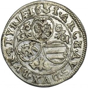 Austria, Ferdinand II, 3 Kreuzer Graz 1631