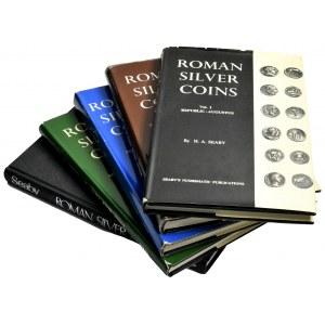 H. Seaby, Roman Silver Coins (5 szt.)