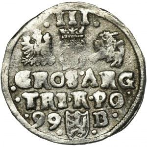 Zygmunt III Waza, Trojak Bydgoszcz 1599 - FAŁSZERSTWO