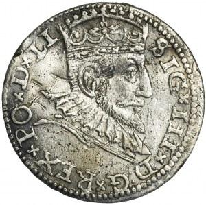 Zygmunt III Waza, Trojak Ryga 1591 - FAŁSZERSTWO