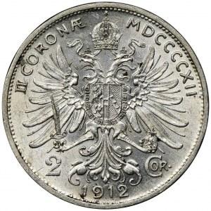 Austria, Franciszek Józef I, 2 Korony Wiedeń 1912