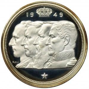 Belgia, Leopold III, 100 Franków 1949