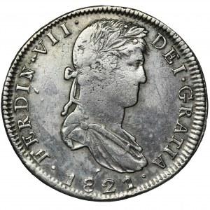 Hiszpania, Ferdynand VII, 8 Reali 1821