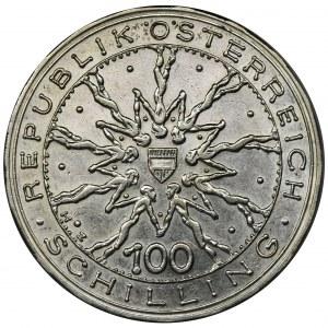 Austria, 100 Szylingów 1978 - Bitwa na Morawskim Polu