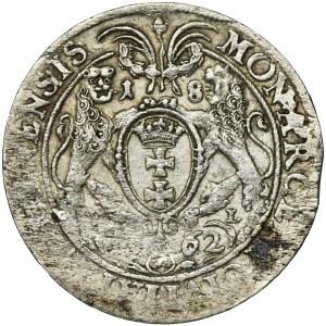 Jan II Kazimierz, Ort Gdańsk 1662 DL