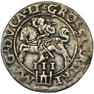 Sigismund II August, 3 Groschen Vilnius 1562 - L/LI