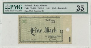 1 mark 1940 - Reminder - RARE