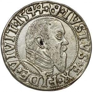 Duchy of Prussia, Albrecht Hohenzollern, Groschen Königsberg 1544