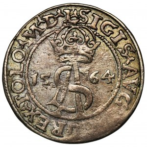 Zygmunt II August, Trojak Wilno 1564 - L/LI
