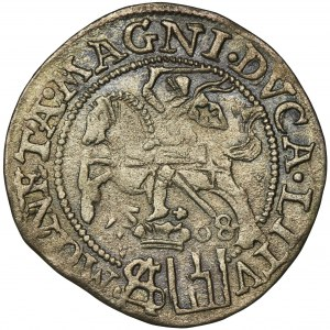 Zygmunt II August, Grosz na stopę polską Tykocin 1568