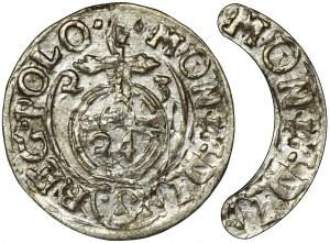 Zygmunt III Waza, Półtorak Bydgoszcz 1623 - przebitka, MONE D L