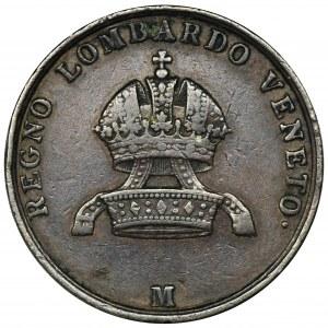 Włochy, Franciszek Józef, 5 Centesimi Mediolan 1849 M