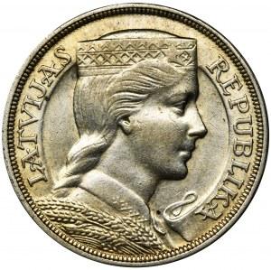 Latvia, Latvian Republic, 5 Lati 1931